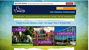City Of Wichita Falls New Website