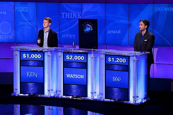 """Jeopardy!"" & IBM Man V. Machine"