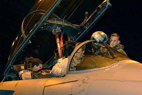 Activity at UK Military Bases as Multi-national Forces Head for Libya