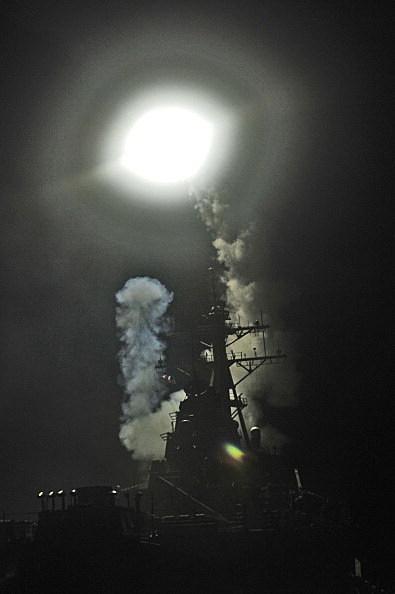 U.S. Navy Targets Gaddafi Military Sites On the Libyan Coast