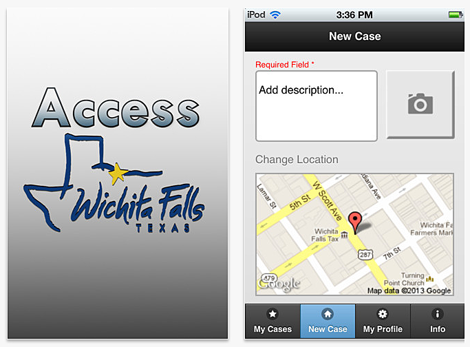 City of Wichita Falls Mobile App