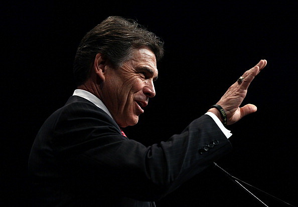 Texas Governor Rick Perry - retire announcement
