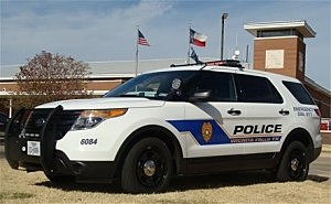 Wichita Falls Police SUV