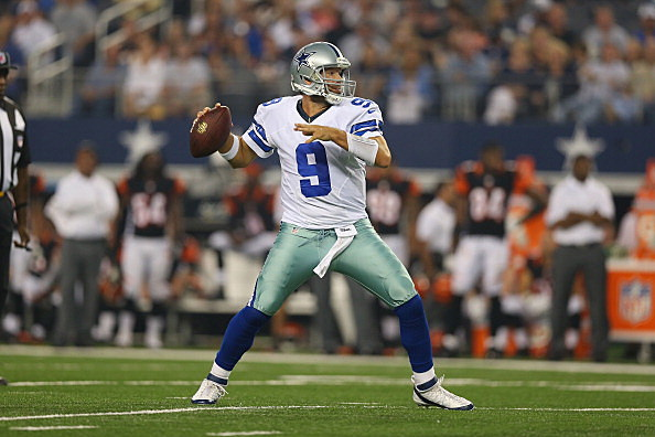 tony romo finds something special in new throwing motion