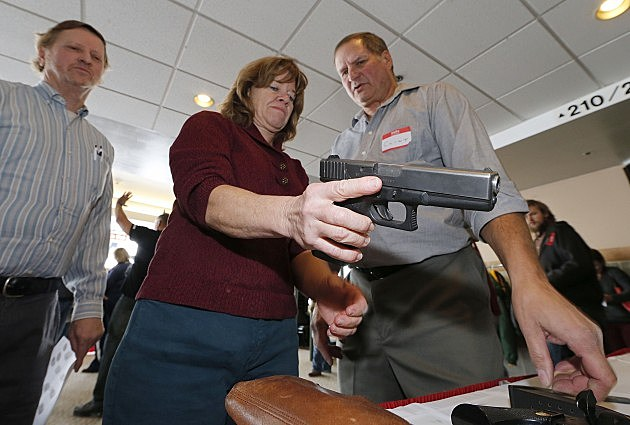 teachers carry guns in school A house panel today approved a bill allowing all tennessee school districts to  designate teachers trained by private firms to carry firearms.