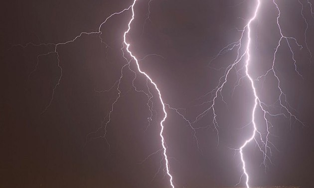 Lightening strikes man twice in texas