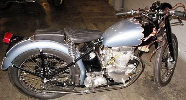 1953 Triumph Tiger Motorcycle