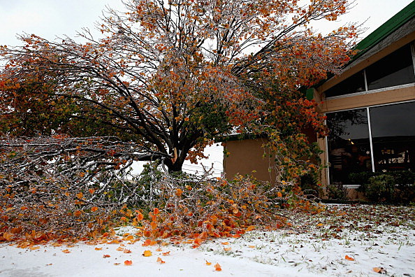 Major Ice Storm Hits North Texas