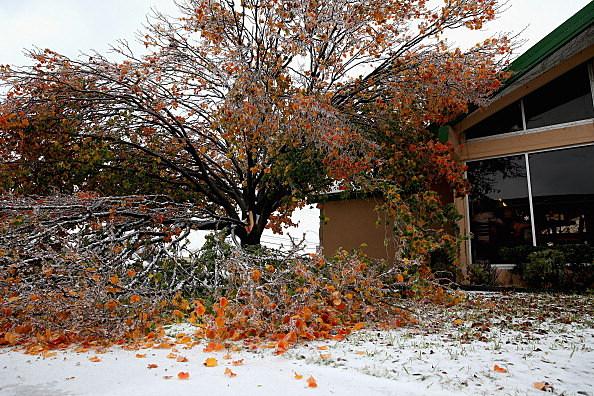 Major Ice Storm Hits North Texas