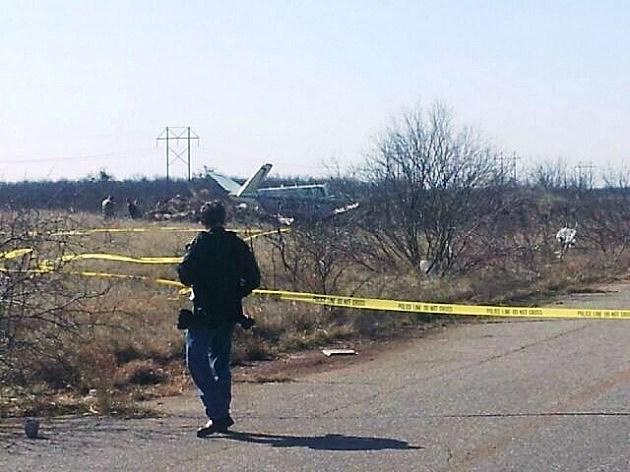 Plane Crash in Wichita Falls (© Andy Glazier/Townsquare Media)