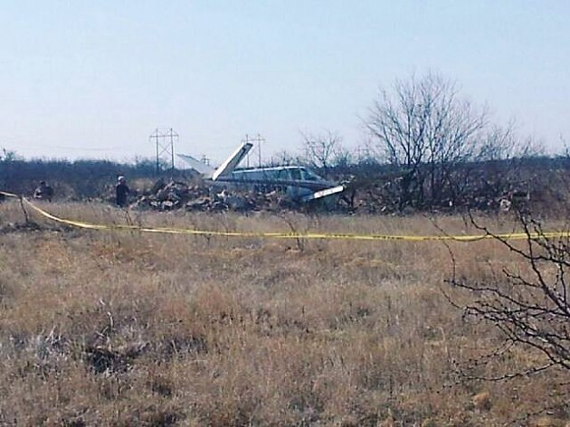 Plane Crash in Wichita Falls (© Andy Glazier/Townsquare Media)