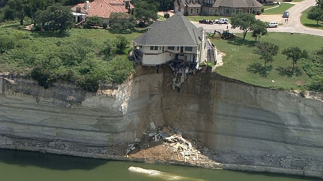 House on Lake Whitney in Texas