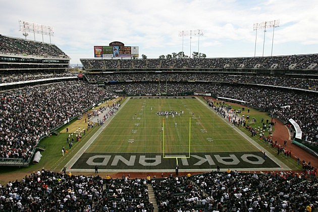 Home of the Oakland Raiders