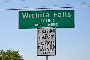 Wichita Falls City Limits Fireworks Prohibited - ©Townsquare Media