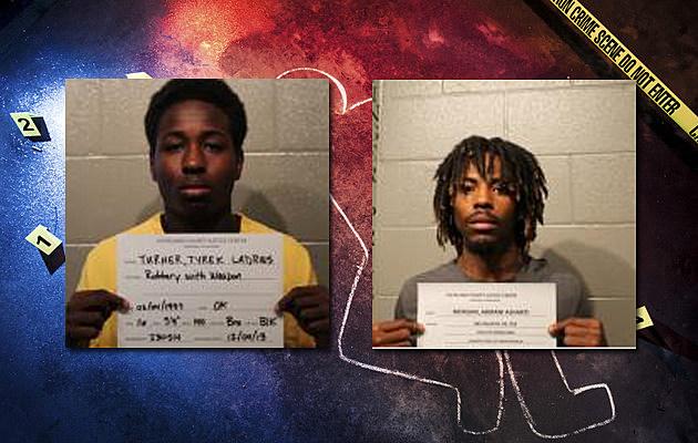 Nathan Ewing murder arrests Tyrek Ladrius Turner - Armani Ashanti Morgan