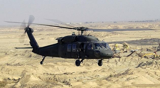 Image of Blackhawk helicopter Image Credit: SSGT SUZANNE M. JENKINS, USAF