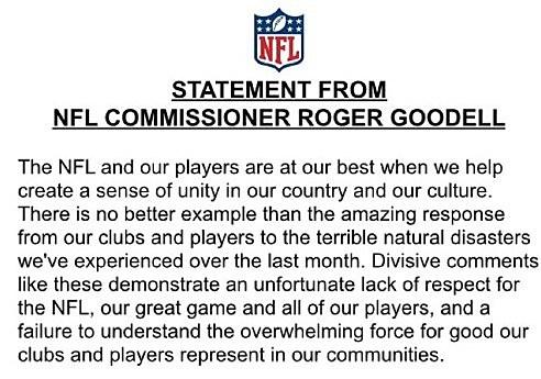 Goddell statement